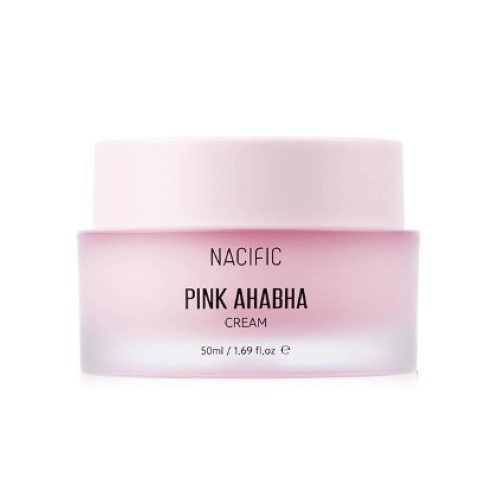 Купить Nacific Pink AHA BHA Cream Крем с экстрактом арбуза, АНА и ВНА кислотами, 50мл., Nacific Pink AHA BHA Cream
