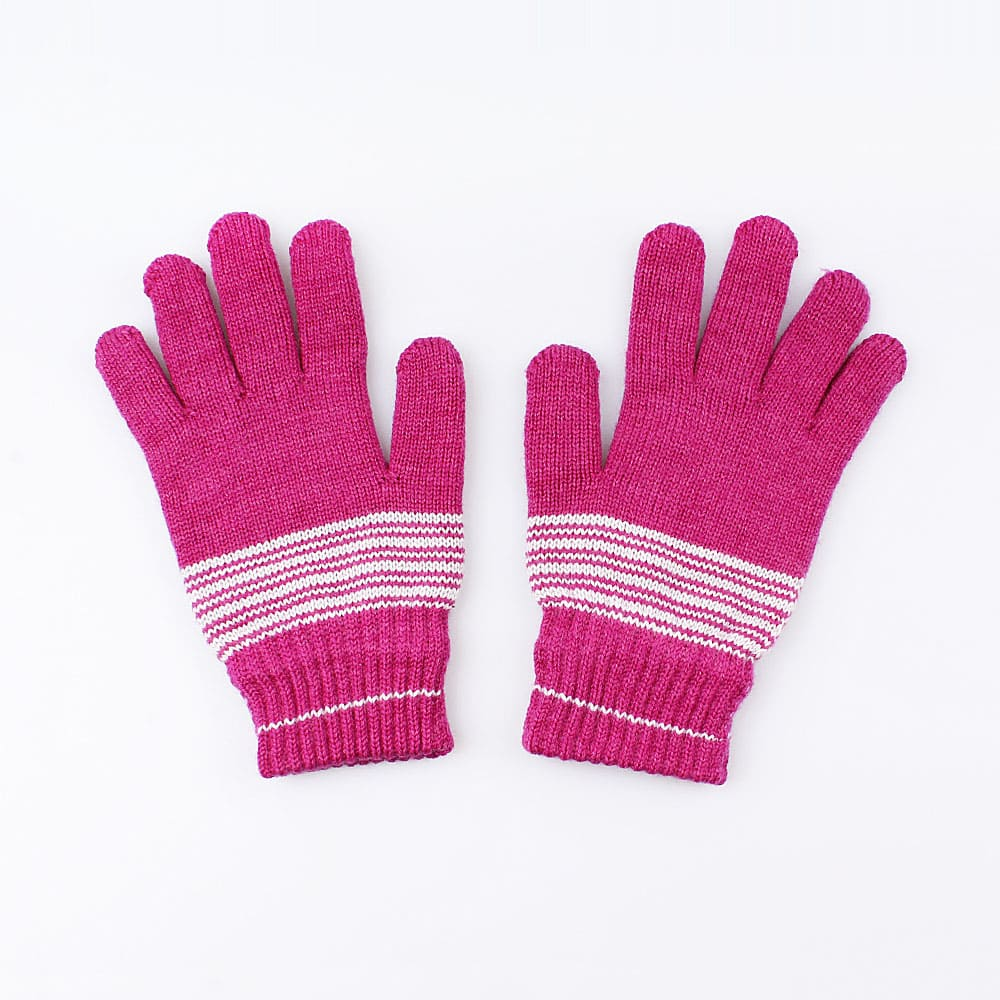 Купить Перчатки детские Котофей 07022133-40 розовый р.16,