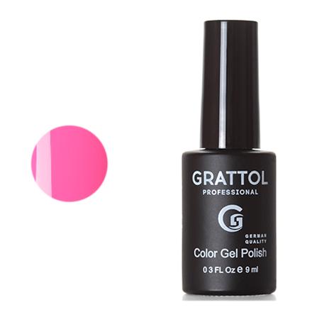 Купить Grattol, Гель-лак Classic Collection №128, Hot pink