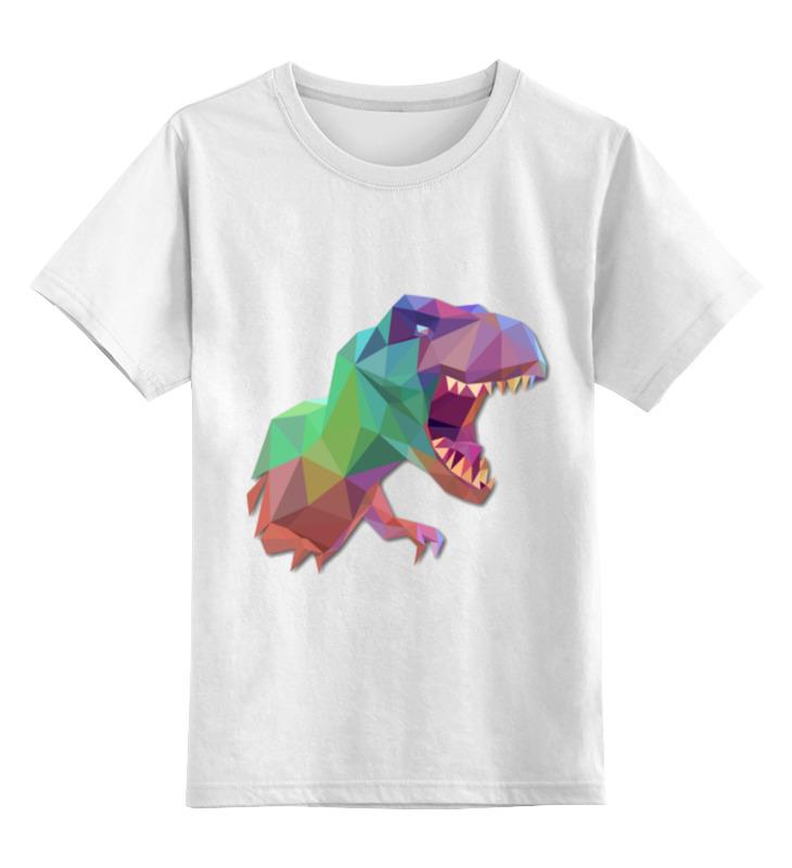 Детская футболка Printio Динозавр цв.белый р.104 0000002910872 по цене 790