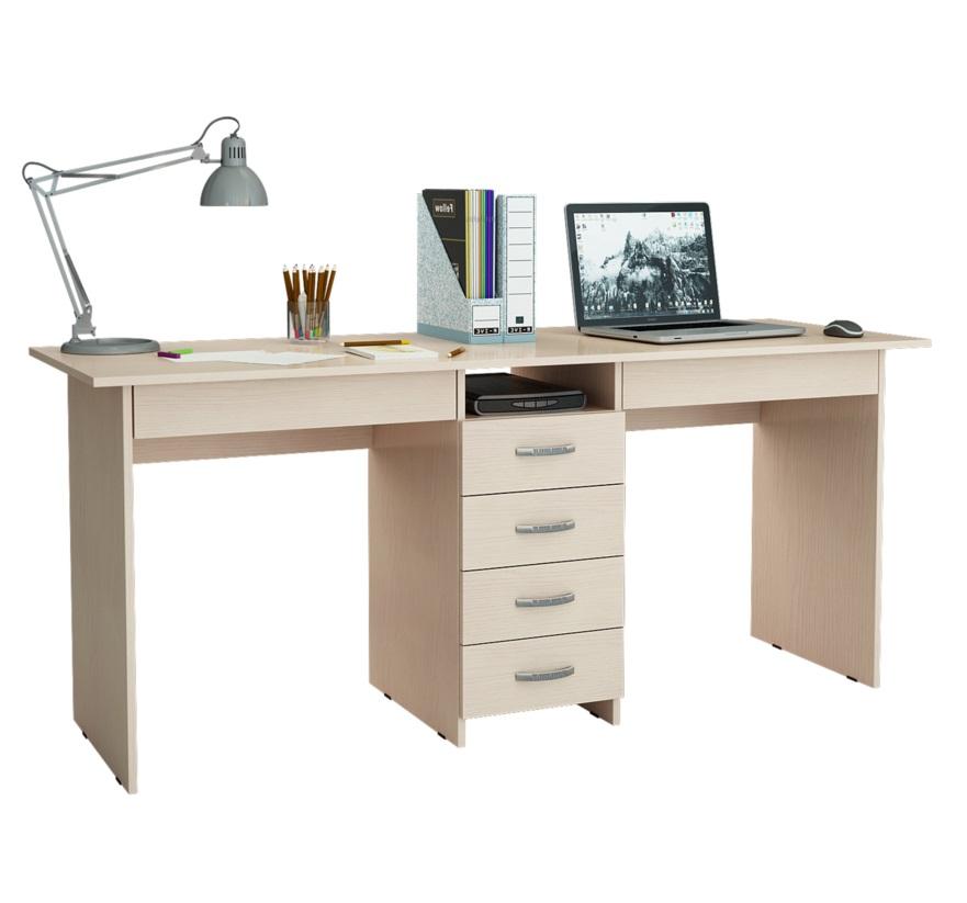 Компьютерный стол MFMaster Тандем 2Я Тандем