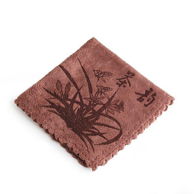 Полотенце для чайной церемонии Чайный лист \