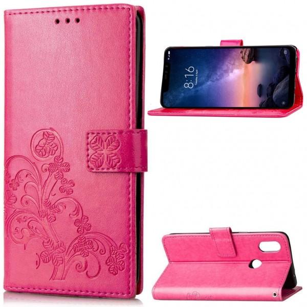 Чехол Epik Four-leaf Clover для Xiaomi Redmi Note 6 Pro Pink