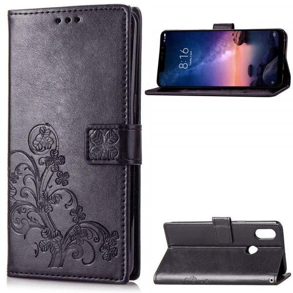 Чехол Epik Four-leaf Clover для Xiaomi Redmi Note 6 Pro Black