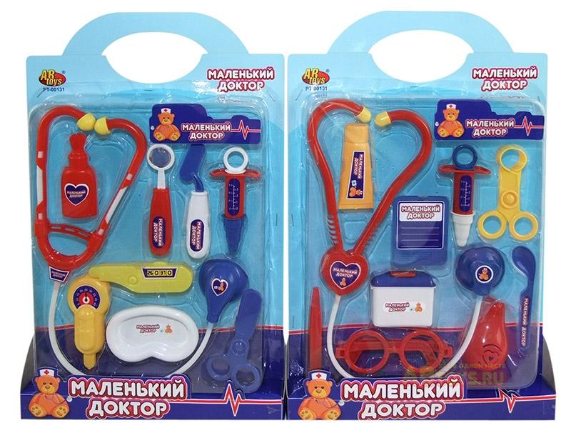 Купить Игровой набор Abtoys Маленький доктор 10 предметов, 53293-TN,