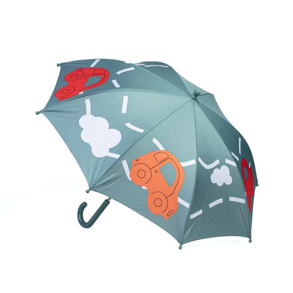 Зонт-трость Котофей 03707042-00 серый