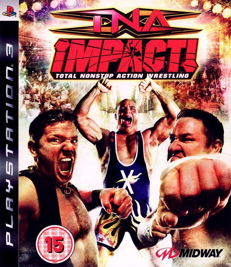 Игра TNA Impact! Total Nonstop Action Wrestling для PlayStation 3 Sony
