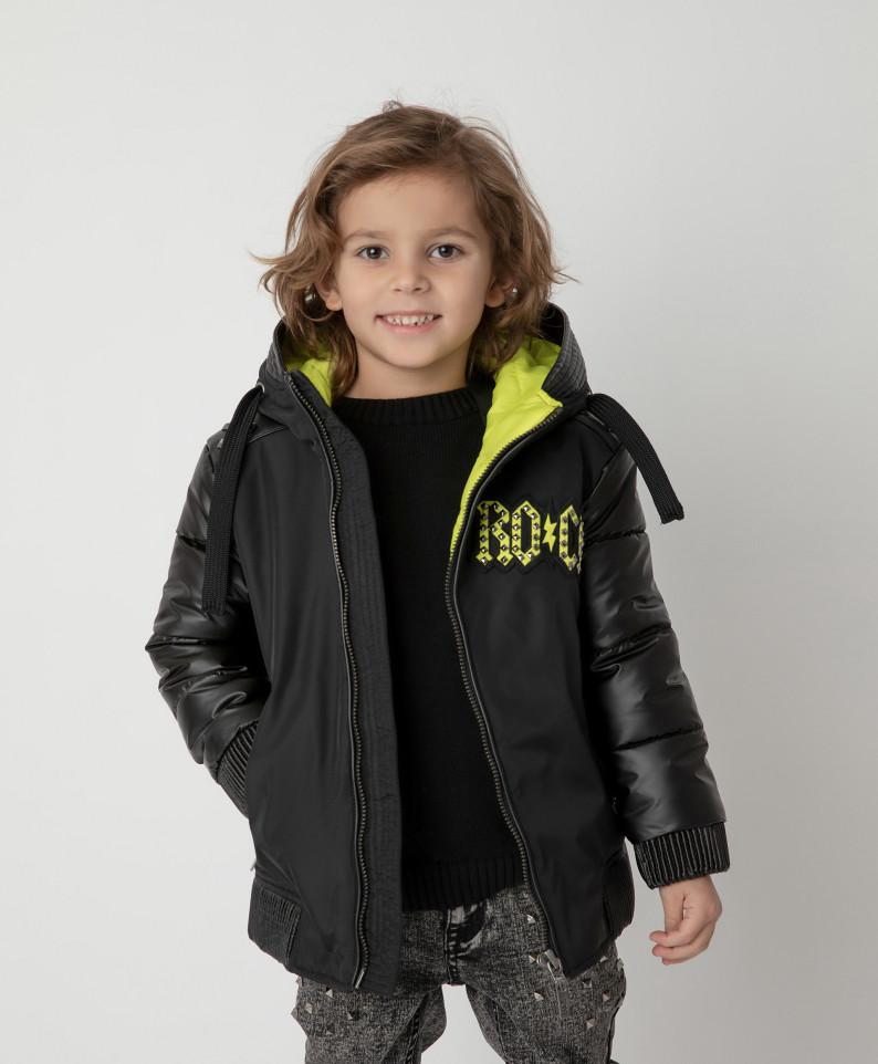 Купить 12104BMC4104, Куртка Gulliver для мальчиков цв. черный р-р. 98,