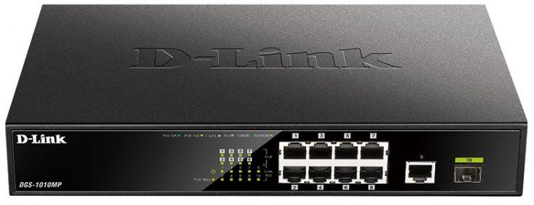 Коммутатор D Link DGS 1010MP/A1A