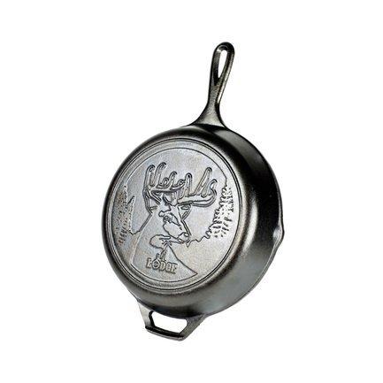 Lodge Сковорода круглая Deer Logo, 26
