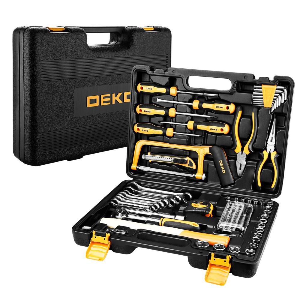 Профессиональный набор инструмента в чемодане DEKO DKMT89