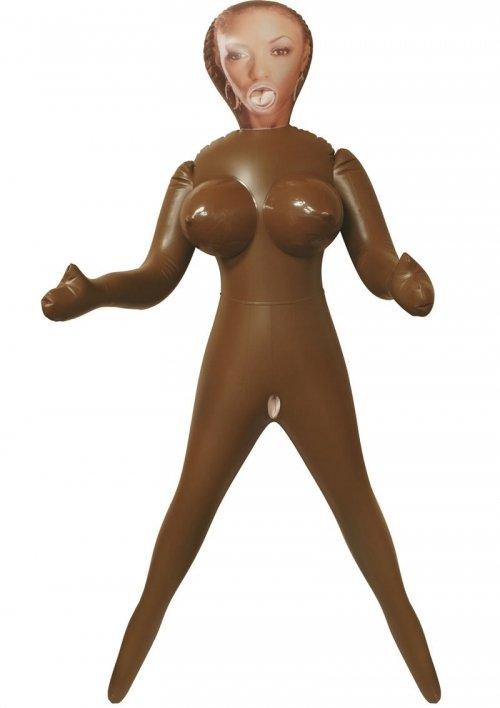 Надувная секс-кукла California Exotic Novelties Vivid Raw Brown Sugar Love Doll по цене 2 590