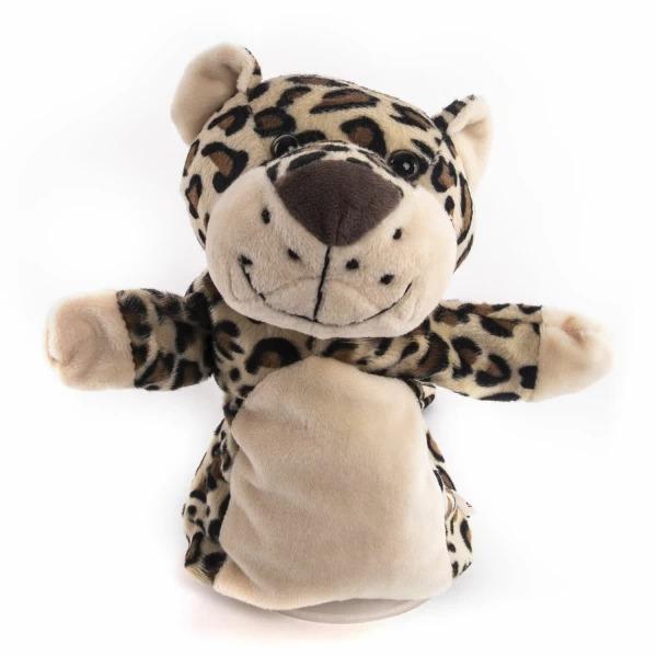 Купить Мягкая игрушка Gulliver Рукавичка Леопард, 25 см,