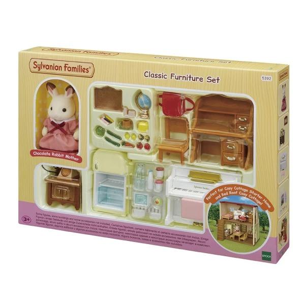 Купить Набор Sylvanian Families Мебель для уютного дома Марии, Игровые наборы