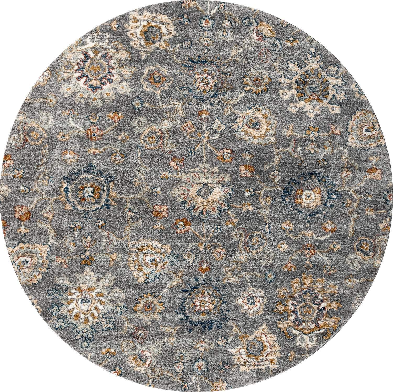 Круглый синтетический ковер коллекции «Amazon», 59361, 200x200 см