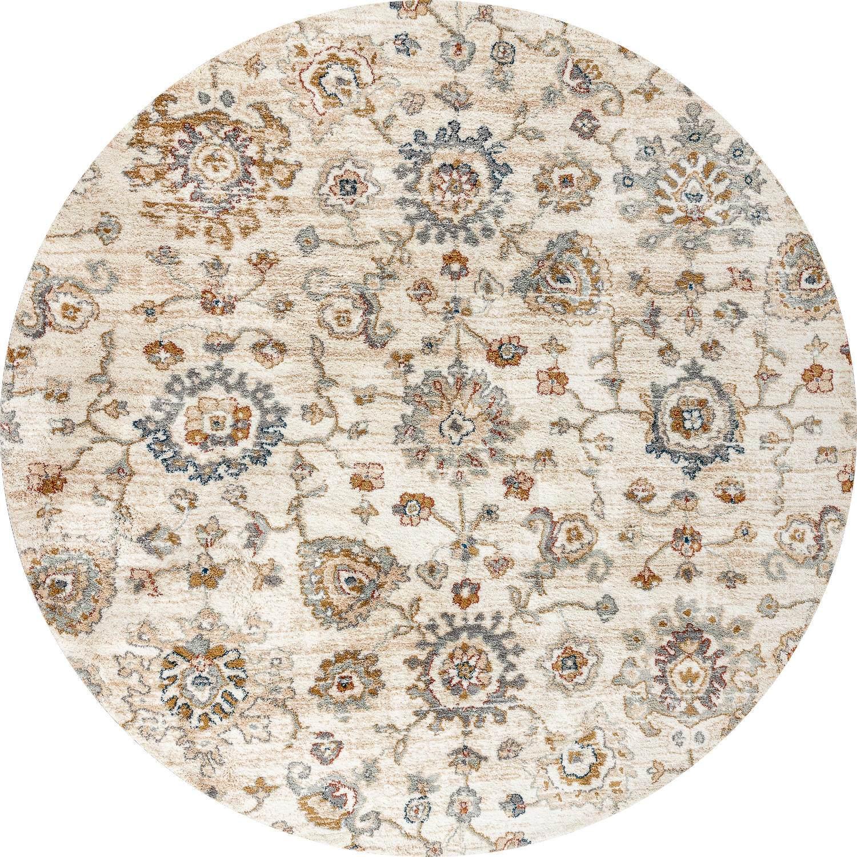 Круглый синтетический ковер коллекции «Amazon», 59362, 200x200 см