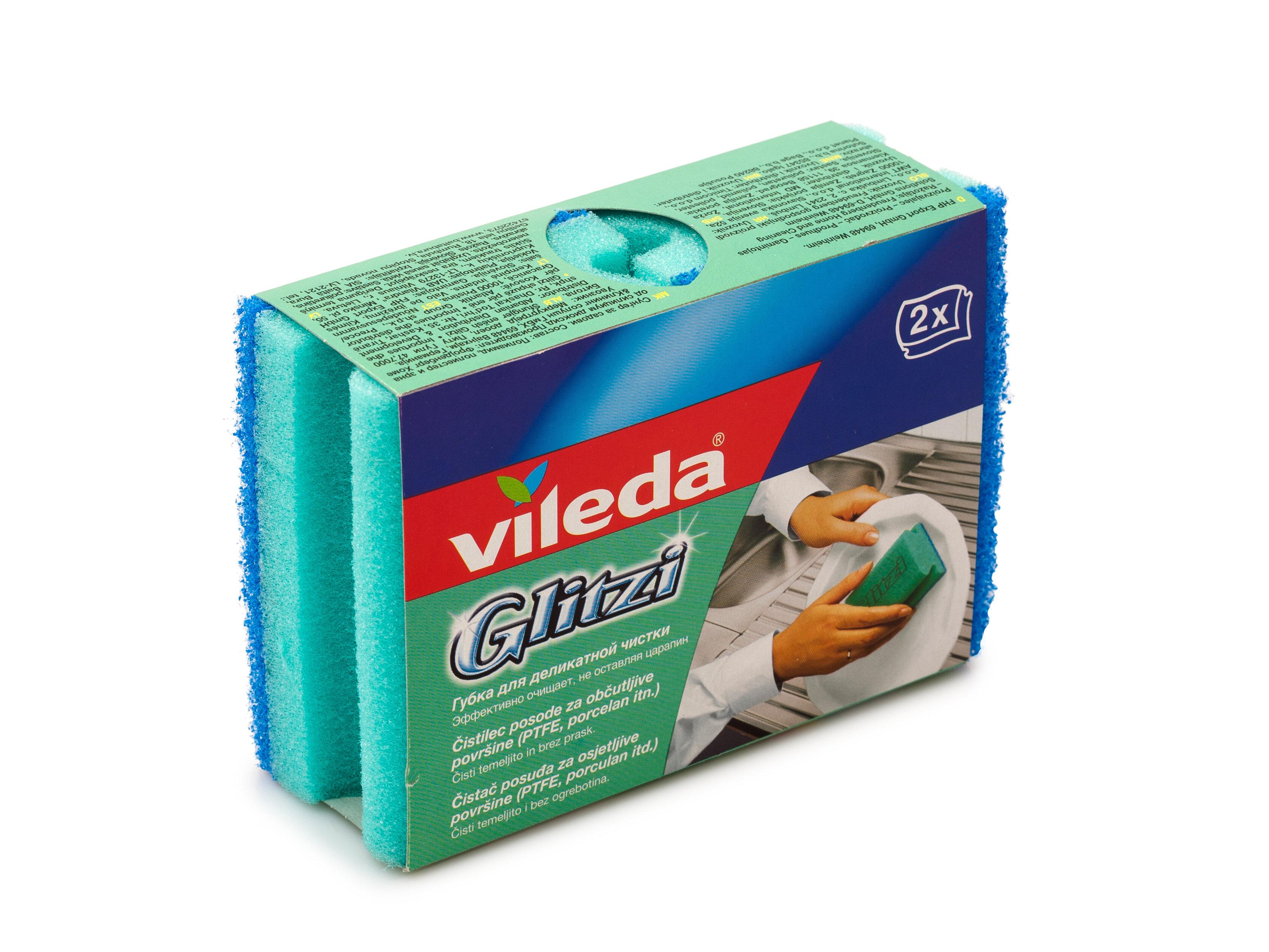 ВИЛЕДА Губка для посуды Глитци 2 шт.