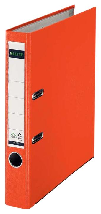 Папка с арочным механизмом Leitz, 50 мм, оранжевая