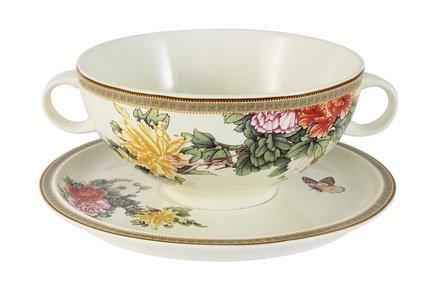 IMARI Суповая чашка Японский сад (0.5