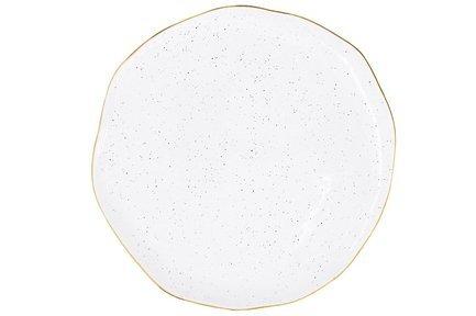 Тарелка Artesanal, 26 см, белая EL-1583_ARTW