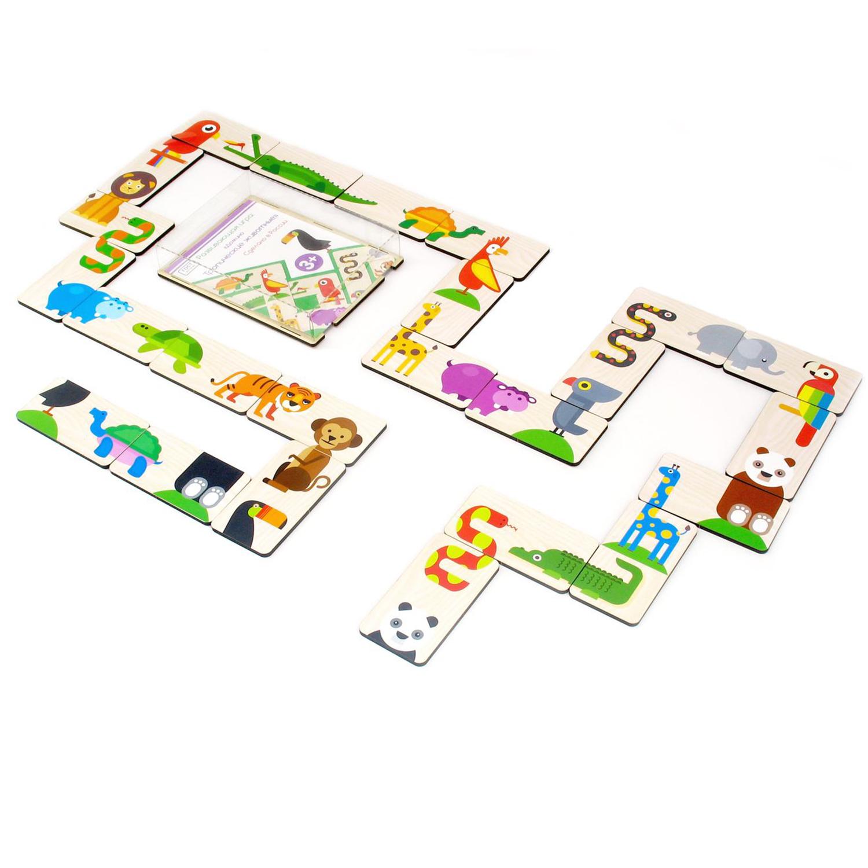 Игровой набор Домино Тропические животные PAREMO PE120-28