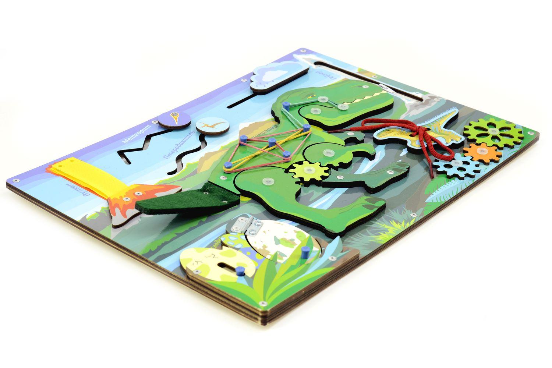 Бизиборд PAREMO Динозавр