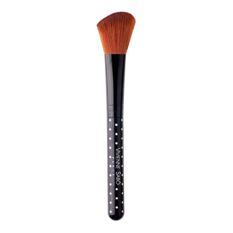 Купить Кисть для макияжа Vivienne Sabo для румян скошенная, кисть для макияжа D215240016