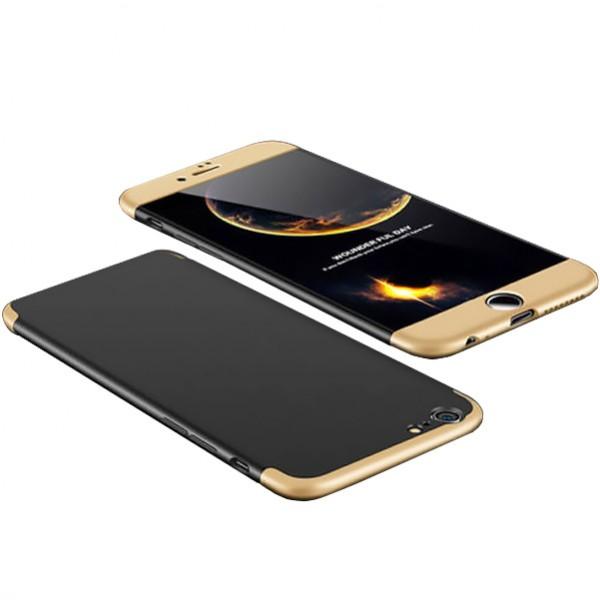 Чехол GKK LikGus для Apple iPhone 7/8 (4.7) Black/Gold