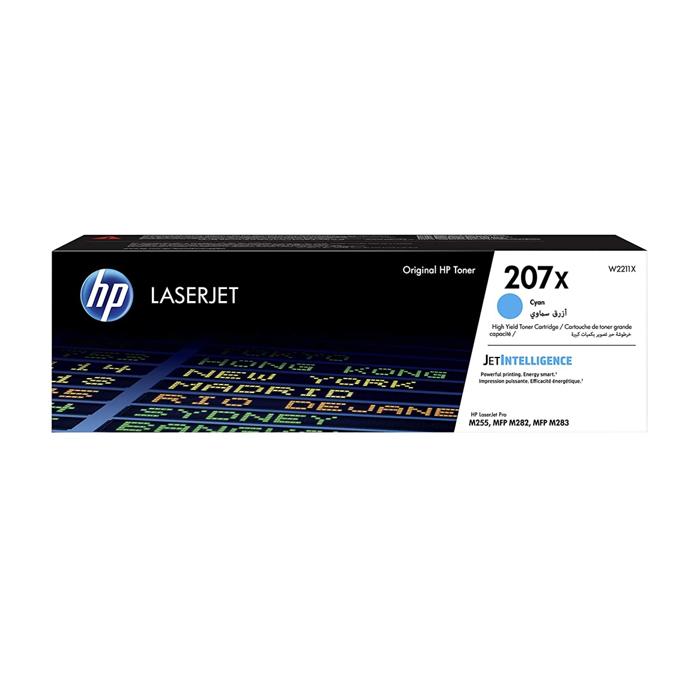Картридж для лазерного принтера HP W2211X голубой, оригинал