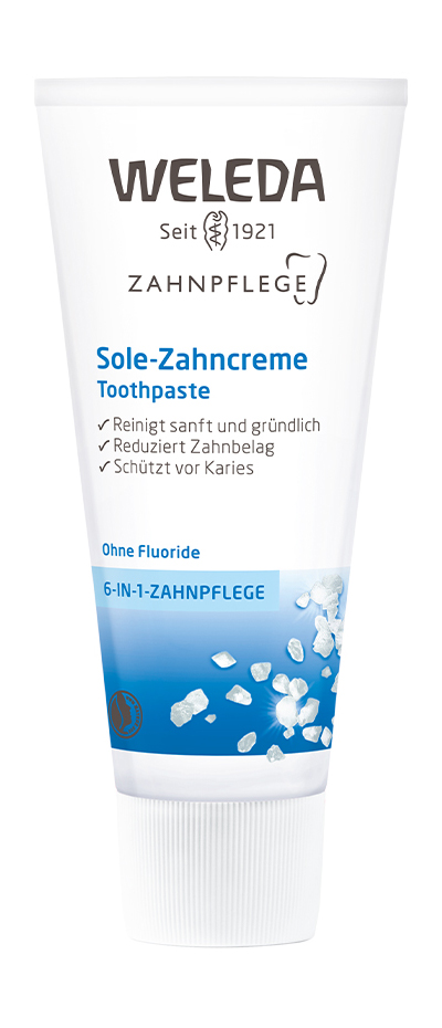 Купить Зубная паста WELEDA Weleda Zahnpflege Sole-Zahncreme Toothpaste Солевая 75 мл, солевая