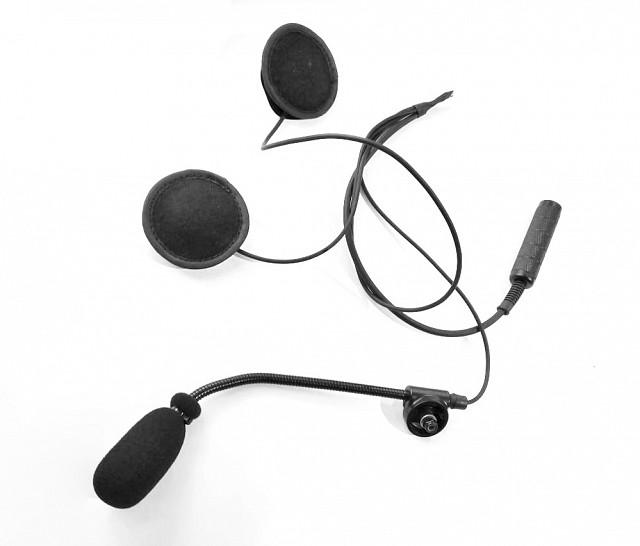 Гарнитура для открытого шлема, разъём Nexus DenCom