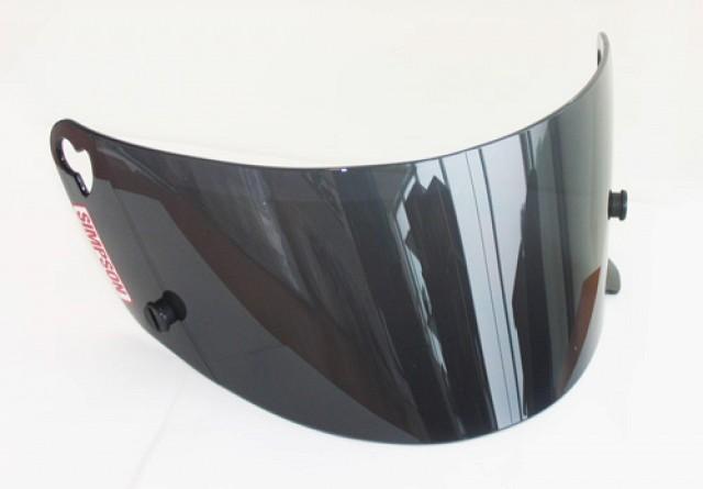 Визор/стекло для шлема VOYAGER, затемненный Simpson 88201A