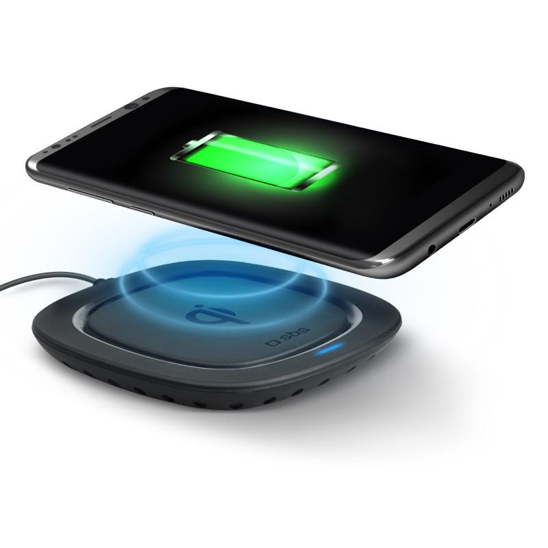 Беспроводное зарядное устройство SBS Qi 5Вт, Black