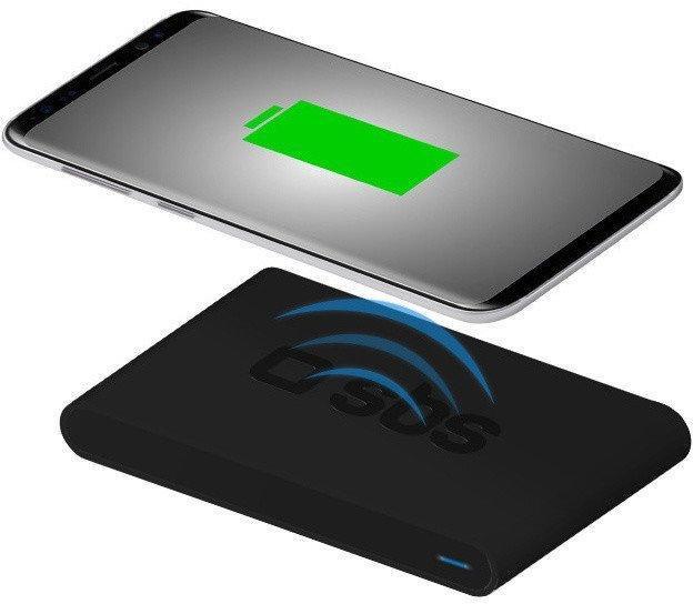 Беспроводное зарядное устройство SBS Qi 10Вт, Black