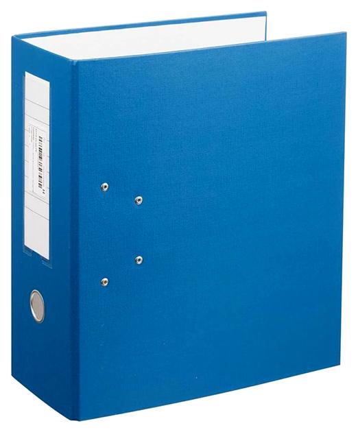 Папка-регистратор с арочным механизмом, А4, 125 мм, синяя