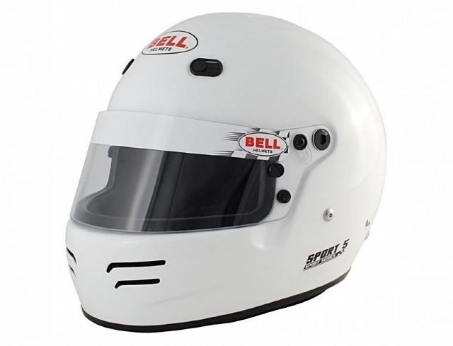 Шлем для автоспорта закрытый SPORT 5, FIA8859,