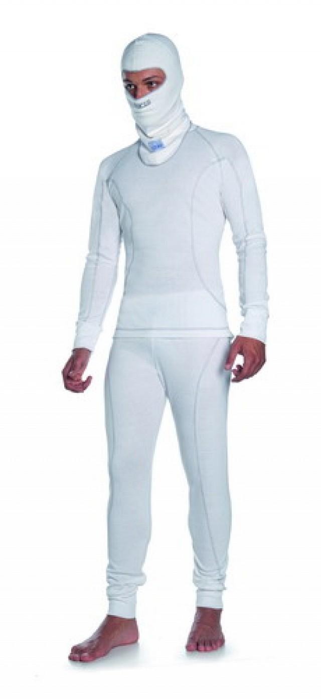 Кальсоны ICE M SLIM FIT белые облегающие,