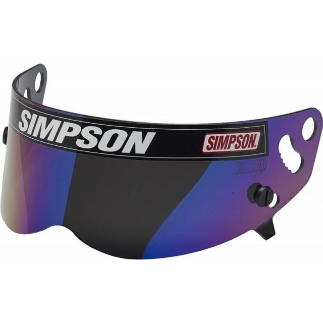 Визор для шлема BANDIT/SUPER BANDIT, иридиевый Simpson