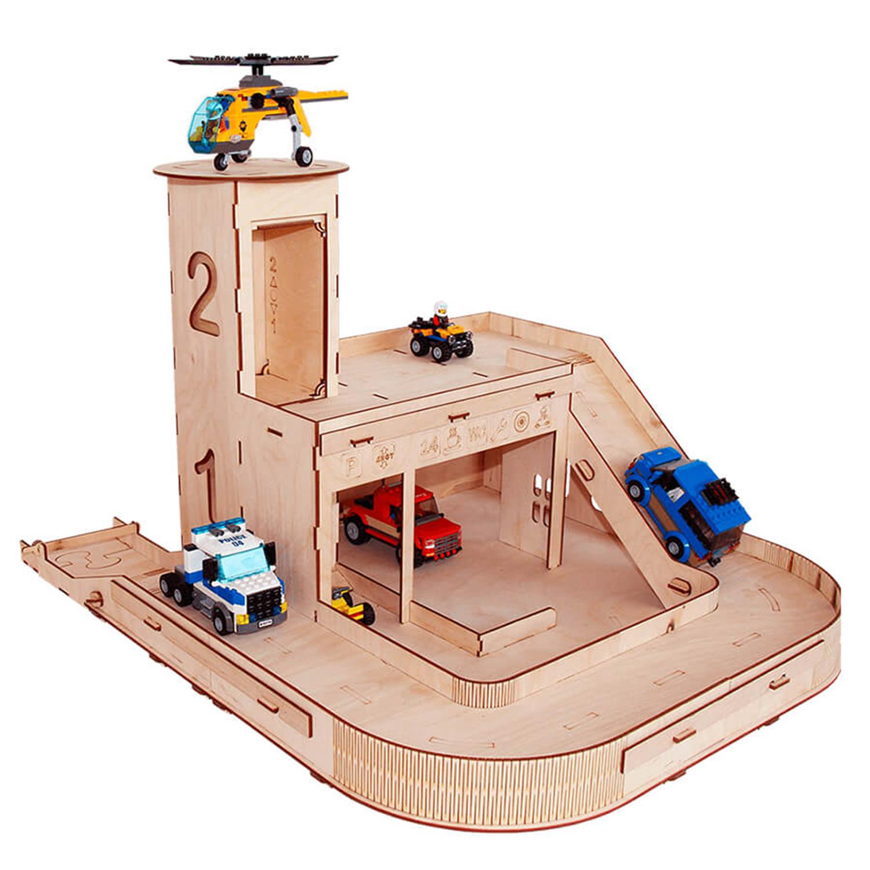 Игровой набор серии Я конструктор Паркинг PAREMO