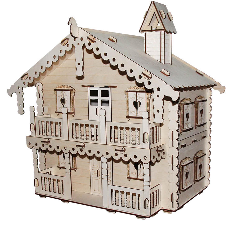 Кукольный домик серия Я дизайнер Русский дом,