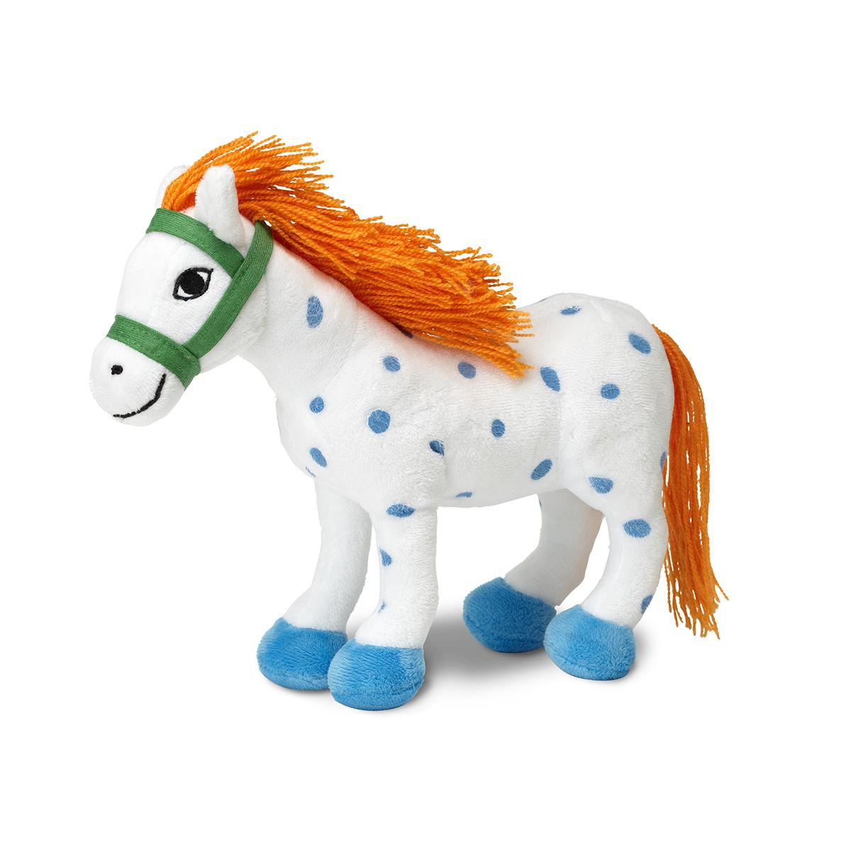 Купить Мягкая игрушка Пеппи Длинный чулок Лошадь Лилла 22 см Micki 44372000, Мягкие игрушки животные