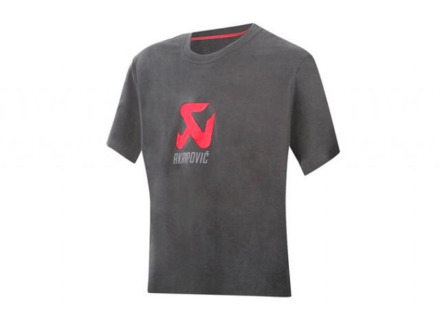 Футболка женская Akrapovic Logo Grey S Akrapovic