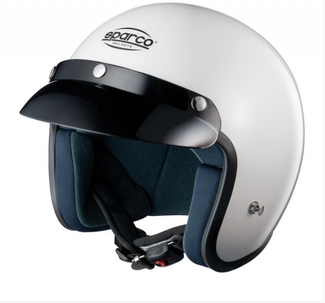 Шлем открытый (ECE 05) CLUB J1, белый,