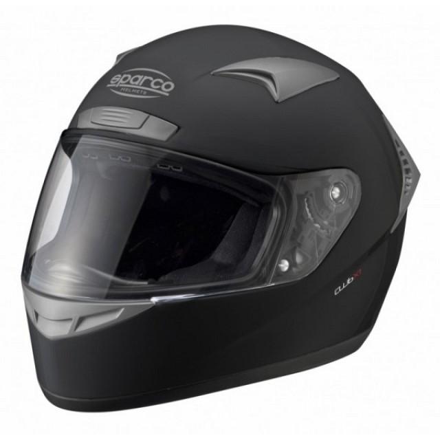 Шлем закрытый (ECE 05) CLUB X1, черный,