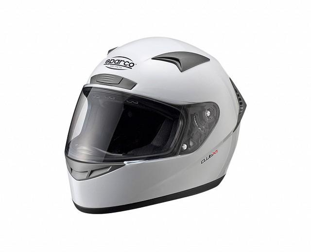 Шлем закрытый (ECE 05) CLUB X1, белый,