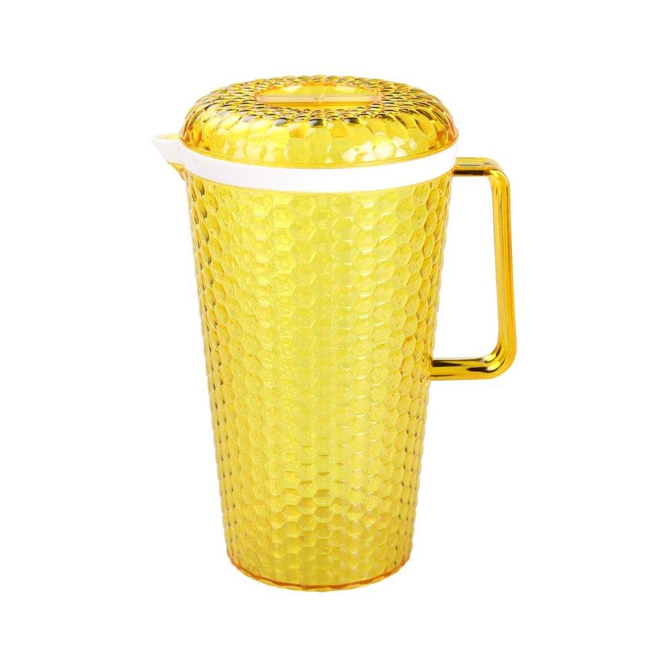 Кувшин Мозаика 2,5 л. с крышкой желтый