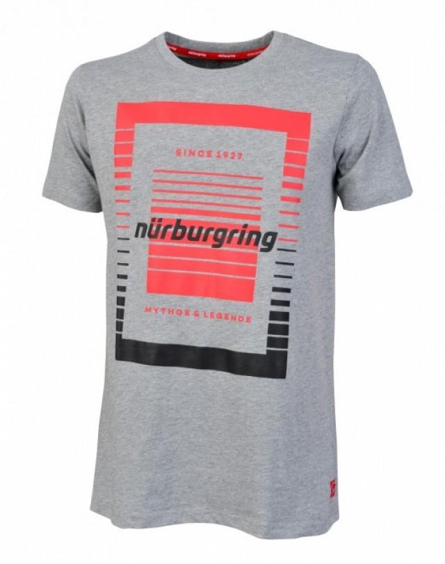 Футболка мужская Stirling (серая) размер S Nurburgring