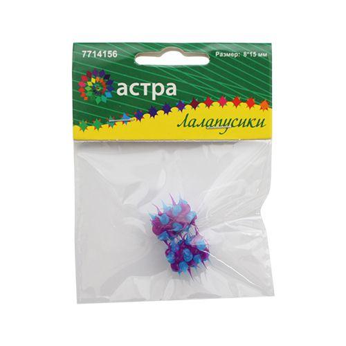 Купить Бусины резиновые с шипами Астра Микс RUB0006, 8х15 мм, 2 шт.,