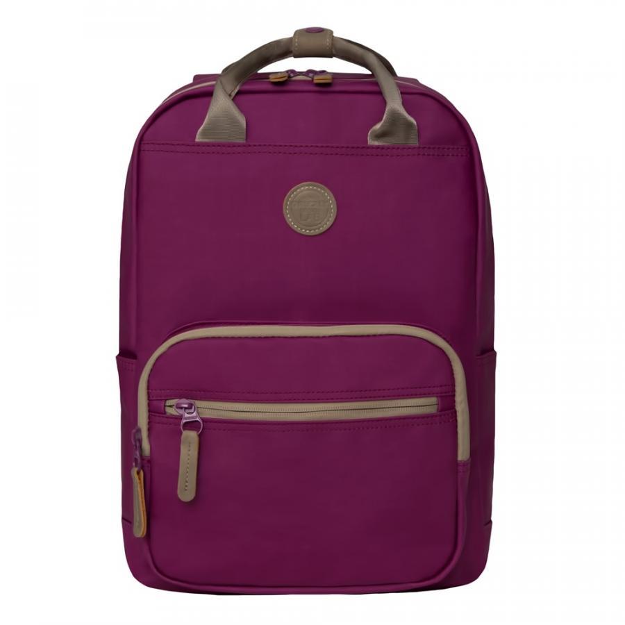 Купить Рюкзак подростковый Grizzly RD-839-1 цв. фиолетовый, Школьные рюкзаки для девочек