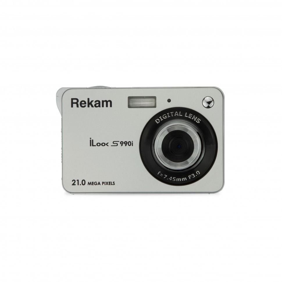 Фотоаппарат цифровой Rekam iLook S990i silver metallic iLook S990i sl met